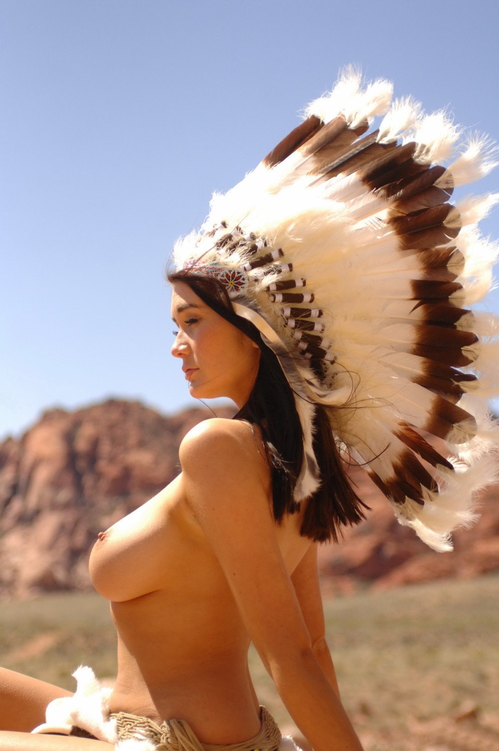 Page 3 Girls Archive - Peta Todd 'Big Chief'